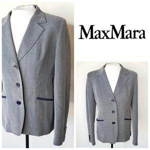 😍 🇮🇹 MAXMARA Italy Luxury Tweed Blazer